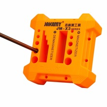 JAKEMY 1pc Strong Plastic Screwdriver Magnetizer Demagnetizer Tools Tips Bits Screw Driver Magnetic Pick Up Tool new magnetizer demagnetizer tool blue screwdriver magnetic pick up tool screwdriver