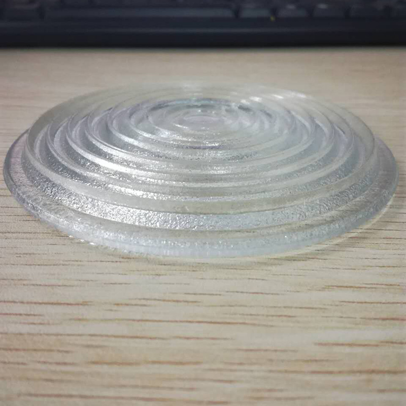 1pc 300mm Diameter Round Glass Spotlight Fresnel Lens with IP23 Protection Grade 5000W doumoo 330 330 mm long focal length 2000 mm fresnel lens for solar energy collection plastic optical fresnel lens pmma material