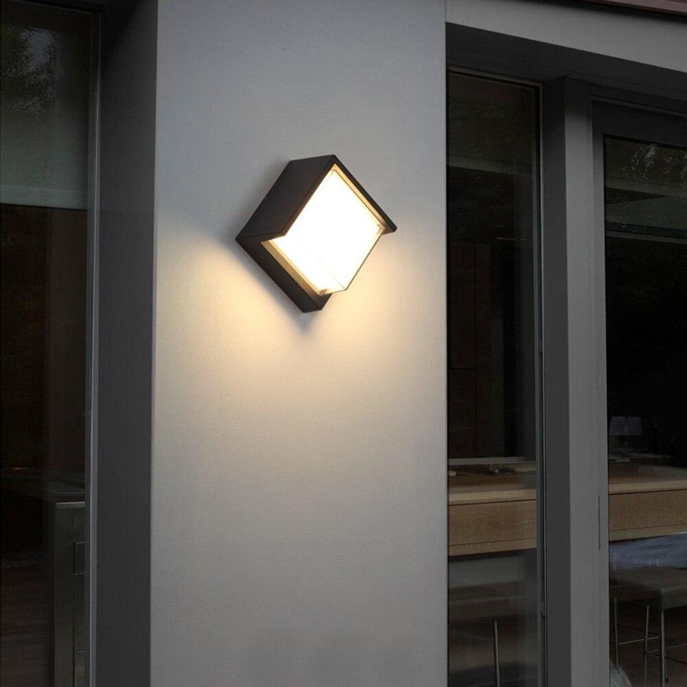 8 W mur LED lampes moderne extérieur intérieur éclairage applique murale lumières LED Wandlamp porche lumière Industrielle Style luminaire mural