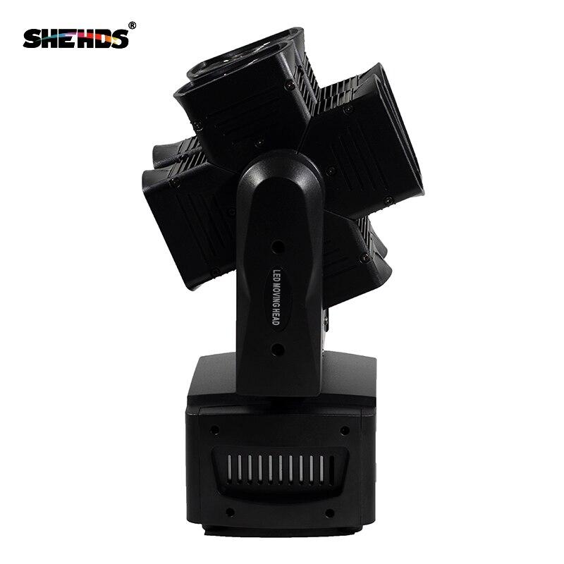 SHEHDS Stage Light DMX LED 8x10W RGBW 4in1 շարժվող - Կոմերցիոն լուսավորություն - Լուսանկար 4