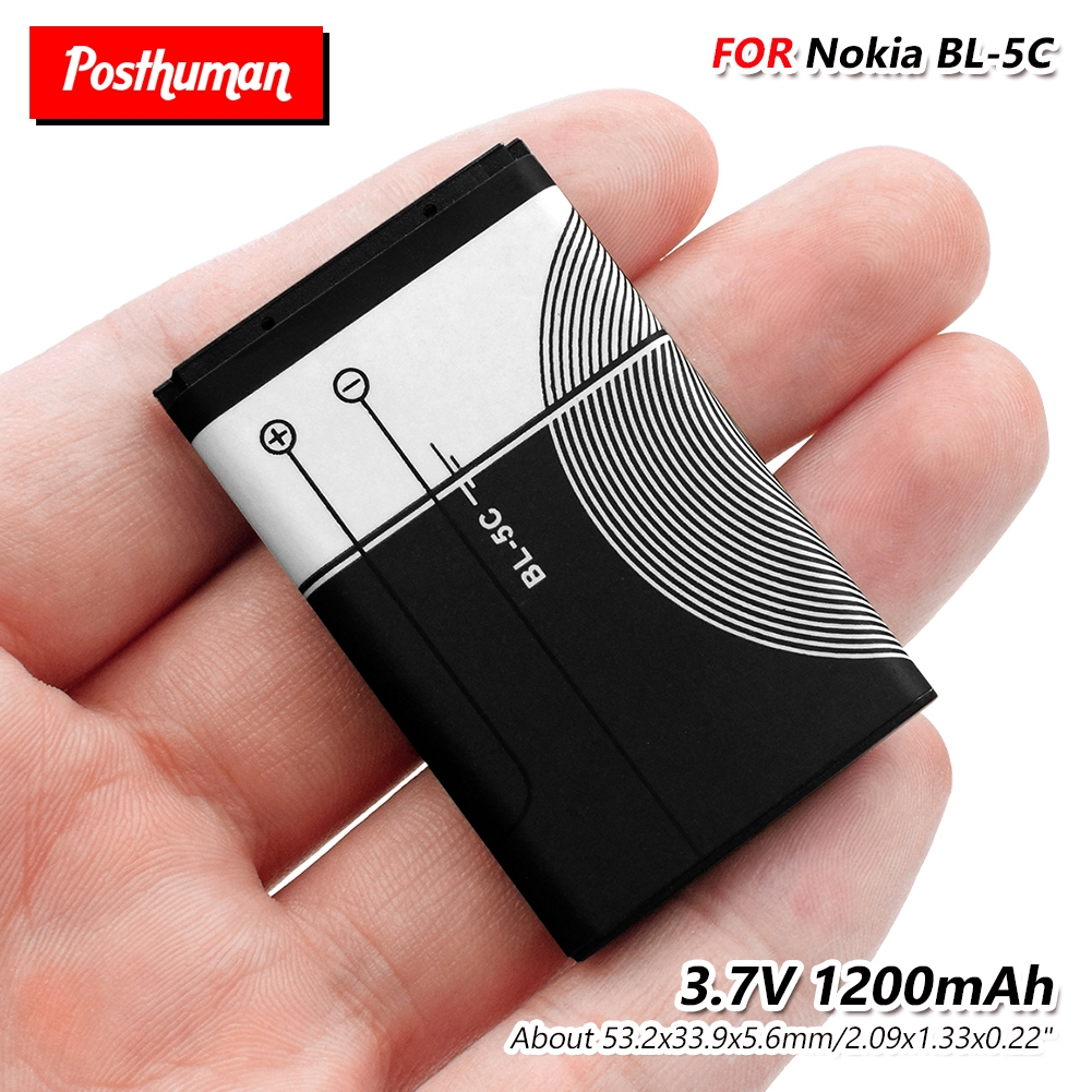 Li-Po Phone BL5C BL-5C BL 5C Battery For Nokia 1100 1110 2600 2700 3100 3110 1200 1208 1280 1600 5130 6230 6230i N70 N72