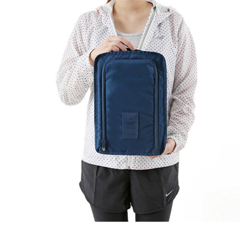 Korean Version Waterproof Travel Bag Foldable Shoe Storage Bag Nylon Packing Cubes Travel Bags Hand Luggage Bag Organizer
