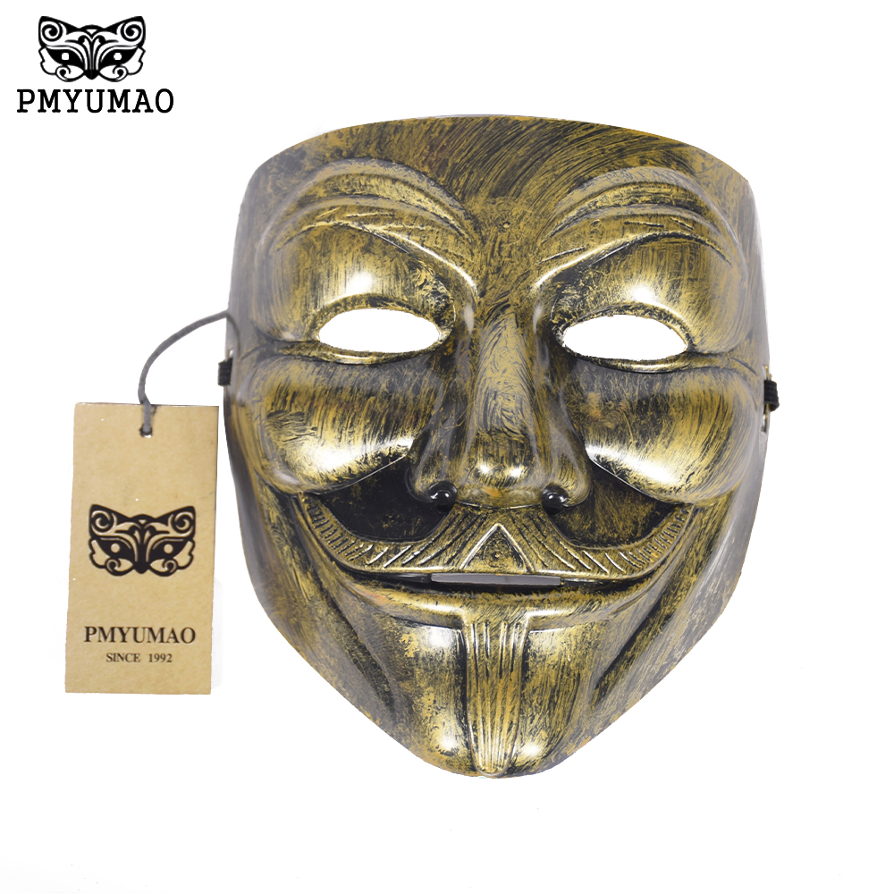 Compare Prices on Vendetta Mask Halloween Cosplay Adults Horror ...