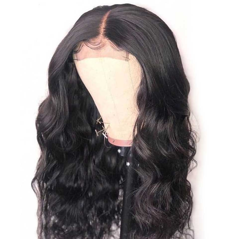 180 Lace Front Human Hair Wigs 13X4 Pre Plucked Nature Hairline Remy Brazilian Body Wave Lace