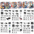 City SWAT Policeman Special Force Model Building Blocks Police Officer Tactical Unit Figure With Weapons Bricks Kids Toys