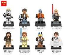 Star Wars Clone Trooper Cunner Zander Ponda Baba Anakin Skywalker starwars Building Blocks Action Bricks Gift Toys for children