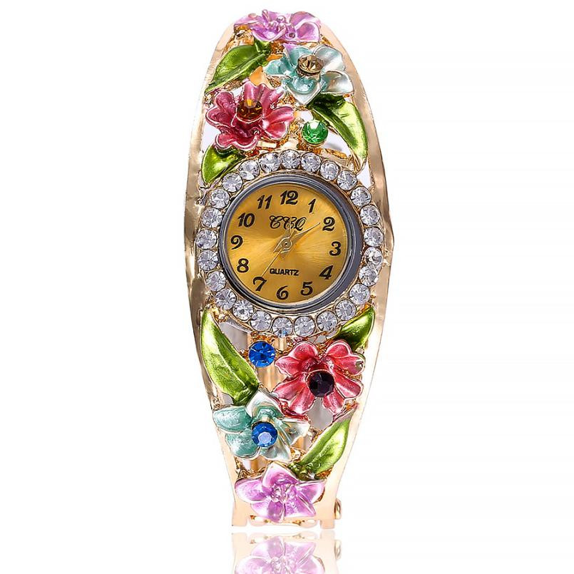 Clock Bracelet Watches Feminino Kol Reloj Women's Luxury Pulso Saati Bayan Originais