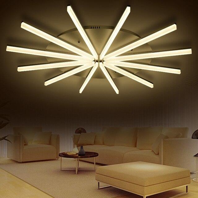 Moderne plafond LED Lampen solar woonkamer plafondlamp moderne ...