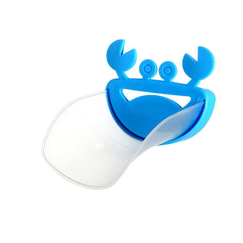 Горячий уникальный милый водяной кран для ванной комнаты расширитель для детей Ручная стирка ребенка желоба раковины руководство 91QR