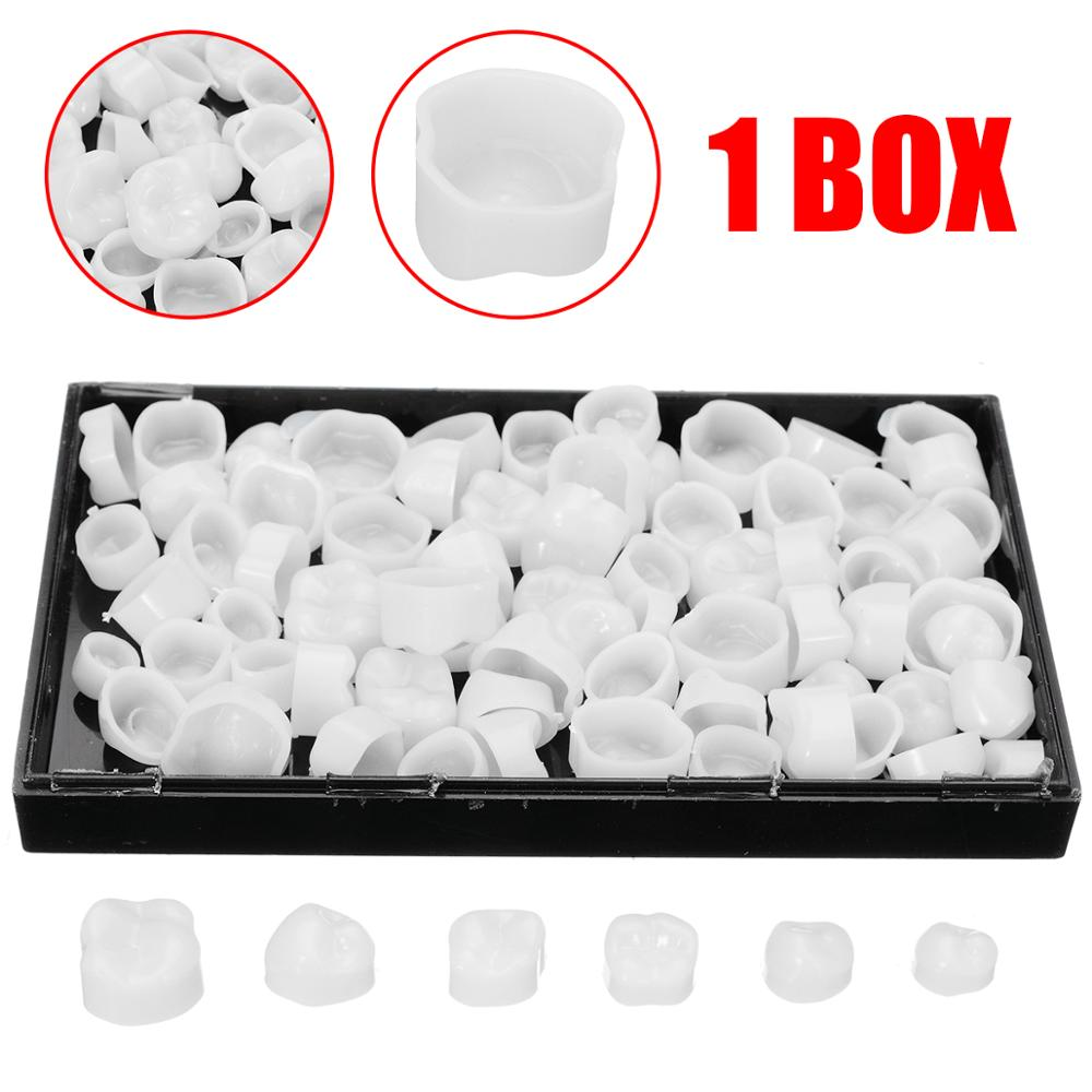 1 Box Dentist Porcelain Denture Temporary Crown Molar Dental Posterior Tooth Teeth Whitening Dental Products