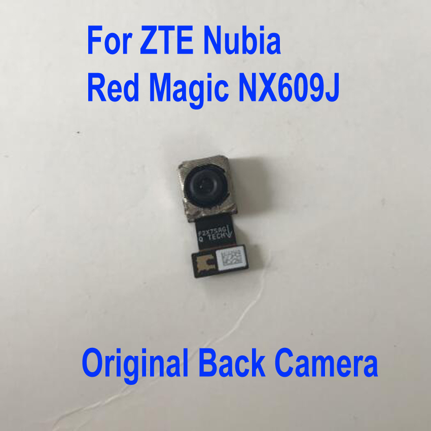 Original Gute Arbeits Wichtigsten Flex Big Hinten Zurück Kamera Modul Für ZTE Nubia Rot Magie NX609J Handy Kabel Teile