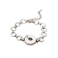 High quality bracelet snaps bracelets pour snap button fit 18-20mm Interchangeable ginger snaps bracelet bangels SMB18-69