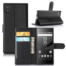 28399e359f1 Para Sony Xperia XZ3 XA1 XA2 Ultra G3121 Flip Funda de cuero para Sony  Xperia XA1 Plus para Sony Xperia XA2 plus cartera funda