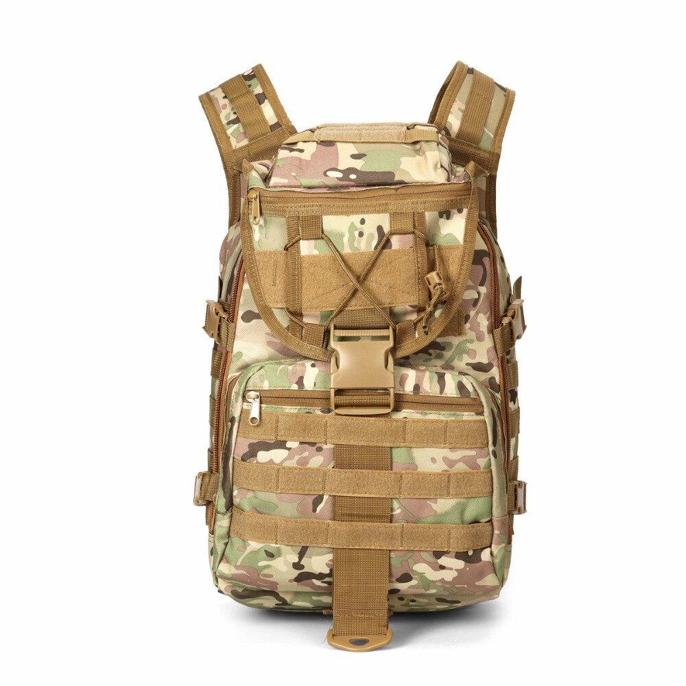 Sac à dos étanche tactique 40L sac à dos Sport Camping Molle X7 sac à bandoulière de Trekking en plein air