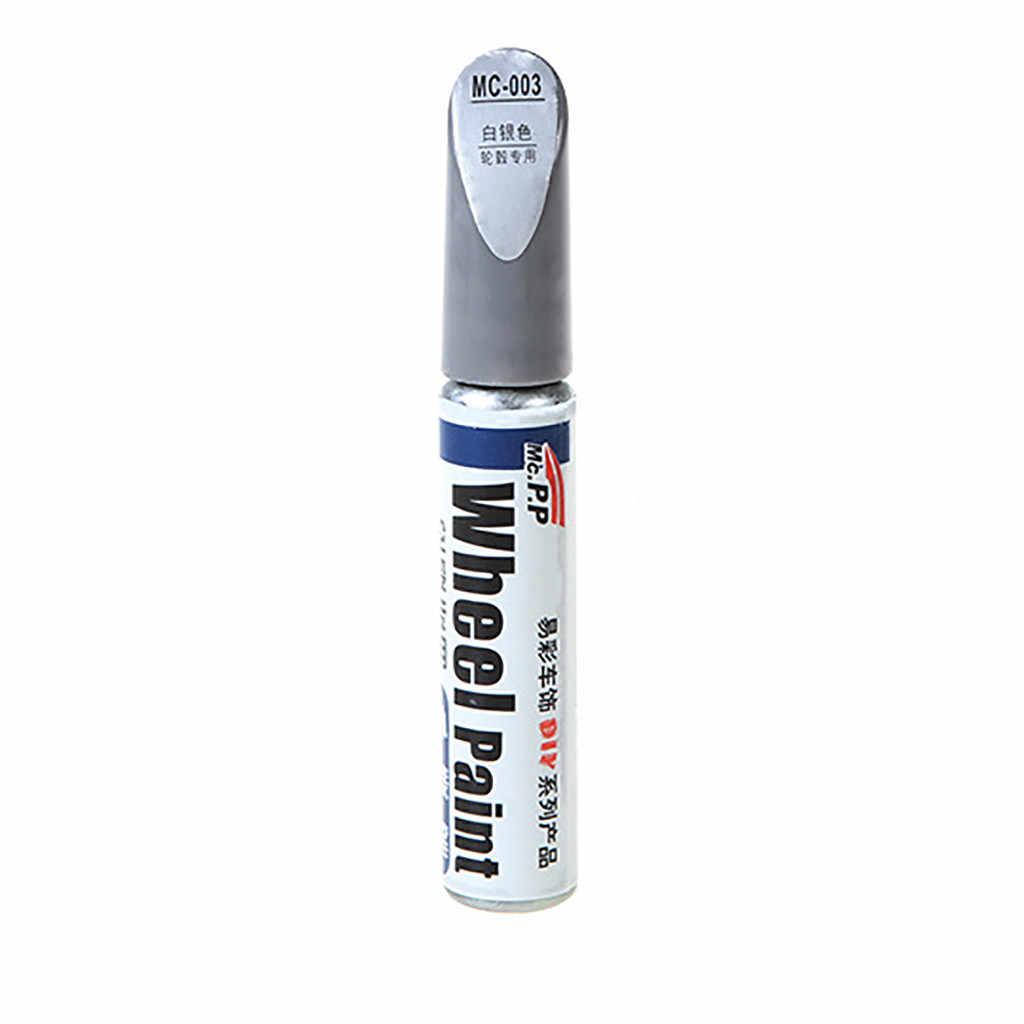 Temizler Scratch araba boyası Coat Scratch onarım kalem alüminyum alaşım lastik tekerlek boya tekerlek kalem yenileme toksik olmayan kalıcı # YL1