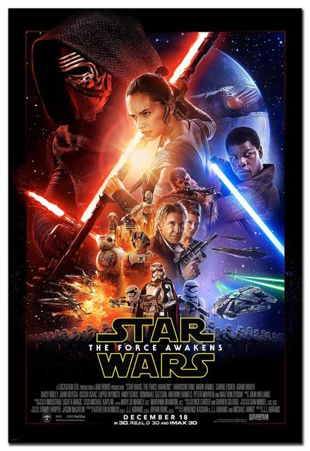 free shipping star wars episode vii the force awakens poster