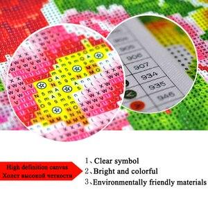 Image 4 - Kot żywica 5D zestaw do malowania diamentami mozaika w pełni z okrągłych kwadratowy monitor haft sprzedaż kreskówka zwierząt ściegu dekoracji wnętrz