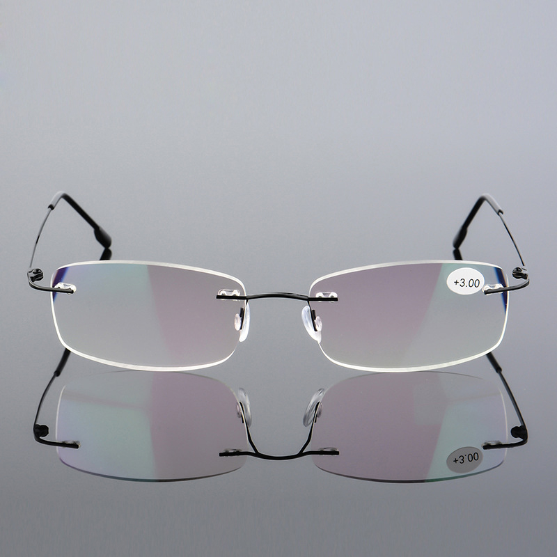 f874c425ce UVLAIK mujeres gafas de lectura hombres lentes de resina Marco de aleación  de gafas Vintage gafas