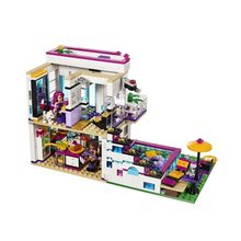 644pcs Friends Girl Series POP Star House Compatibie Legoings Building Blocks Toy Kit DIY Educational Children Birthday Gifts(China)