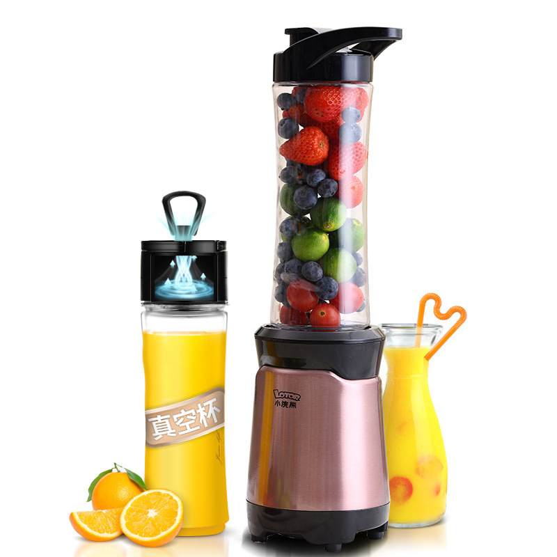 Electric Juicer Juice Cup Milkshake Multi-functional Auxiliary Food Fruit and Vegetable Blender Small Portable Easy To CleanElectric Juicer Juice Cup Milkshake Multi-functional Auxiliary Food Fruit and Vegetable Blender Small Portable Easy To Clean