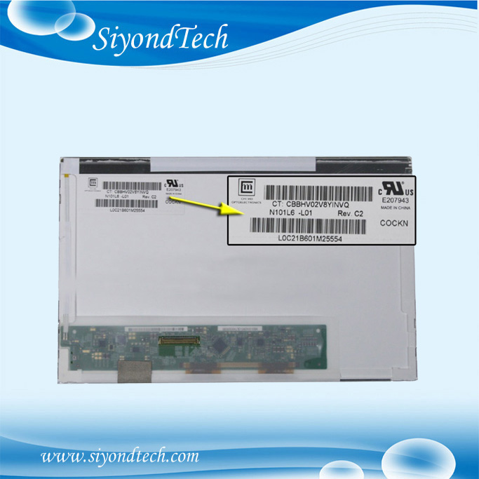 Grade A+ 10.1 LCD Screen For Toshiba Mini NB500 NB505 NB550D NB525 1024x600 LED Display цена