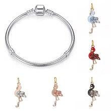 Fit  charms plata de ley 925 original bracelet jewelry valentine's day mary poppins bijoux sieraden kolczyki beads jewellery цена