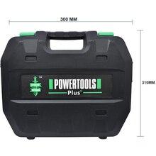 De espera taladro eléctrico Mini herramienta de destornillador de caja de plástico destornillador eléctrico Rotary Drill Kit Mini maleta