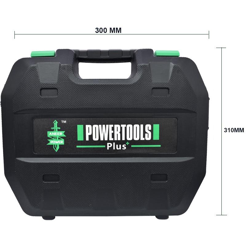 Power Tools Hold-all Electric Drill Mini Tool Screwdriver Bit Plastic Box Electric Screwdriver Rotary Drill Mini Kit Suitcase
