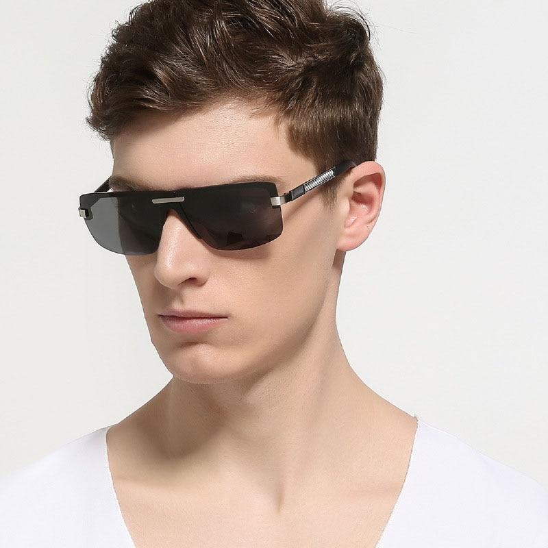 steampunk Schutzbrillenmänner carter randlose Sonnenbrille - Bekleidungszubehör - Foto 1