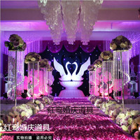 Wedding Crystal pillars Crystal Centerpiece for party Wedding Props 8pcs/lot