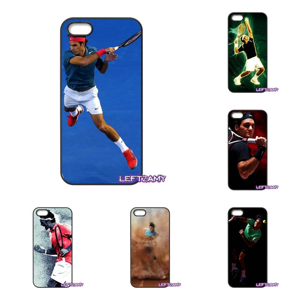 Roger Federer Tennis Star RF Hard Phone Case Cover For iPhone 4 4S 5 5C SE 6 6S 7 8 Plus X 4.7 5.5 iPod Touch 4 5 6