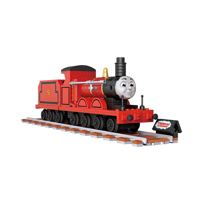 Caliente dibujos animados Thomas mini bloque de construcción de ...