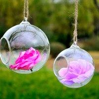 Diameter=10cm 36pcs/pack Glass Ball Terrarium Wedding Decorative Beautiful Friend Gift Glass Ornament Glasswares China Supplier