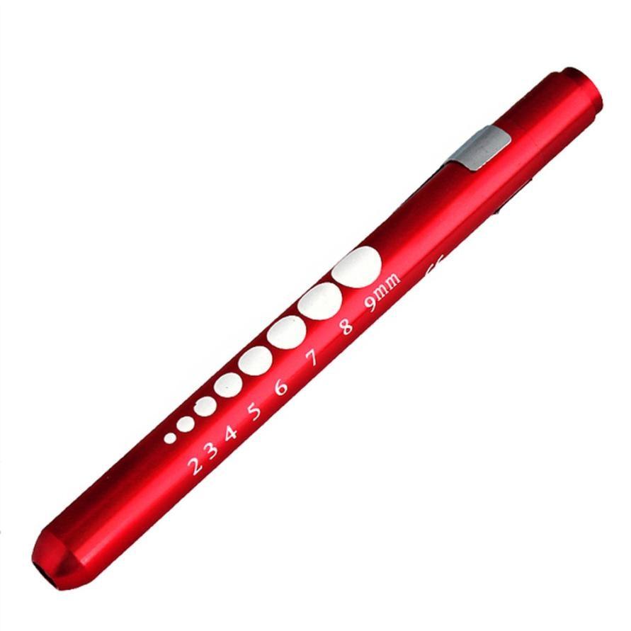 TS#30 Medical First Aid LED Pen Light Flashlight Torch Doctor Nurse EMT Emergency2 Free Shipping