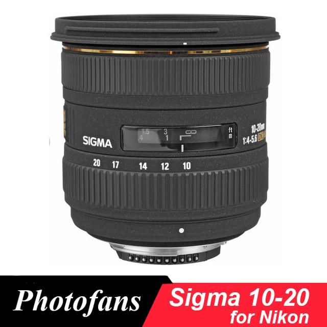 Niesamowite Sigma 10 20mm f/3.5 EX DC obsługi HSM szeroki kąt obiektyw do UH06