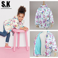 SK,3-7 Years Spring 2016 Girls Clothing Fashion Girls Printing Full Sleeve Jackets Outerwear New Toddler Girls Hooded Coats