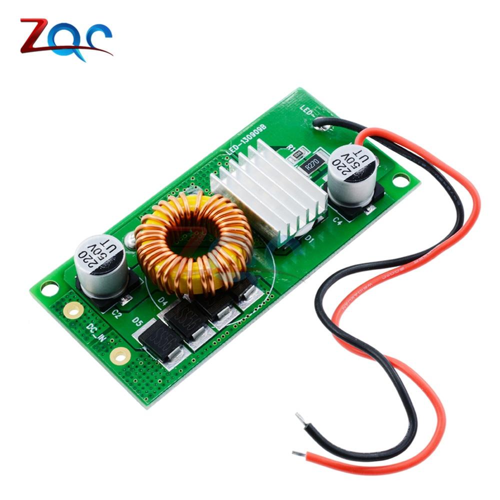 Dc 12 v-24 v ao motorista atual constante do diodo emissor de luz da c.c. 10 w 20w 30w 50w fonte do poder da entrada da c.c. para 10 w 20w 30w 50w conduziu a lâmpada