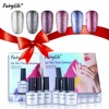 FairyGlo Bling Platinum UV Nail Gel Polish 10ML Set Nail Art Soak Off Nail Gel Polish