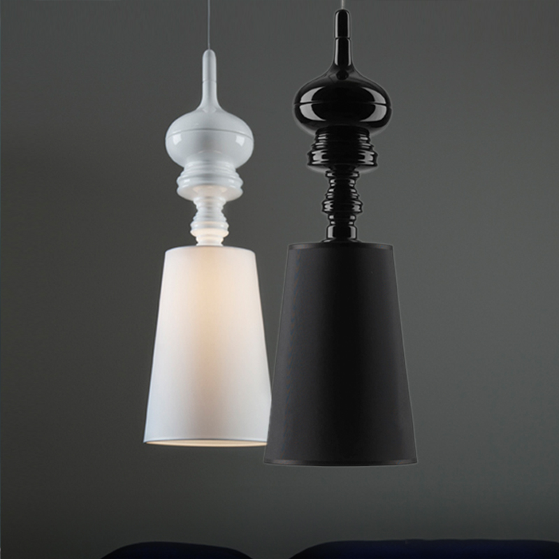 New Classical Cloth Pendant Light Restaurant Entrance Aisle Corridor Balcony Single Droplight For Dining Room Bedroom Bedside american restaurant ceramic pendant lamps balcony aisle bar classical home bedroom corridor porch bird pendant light za9197