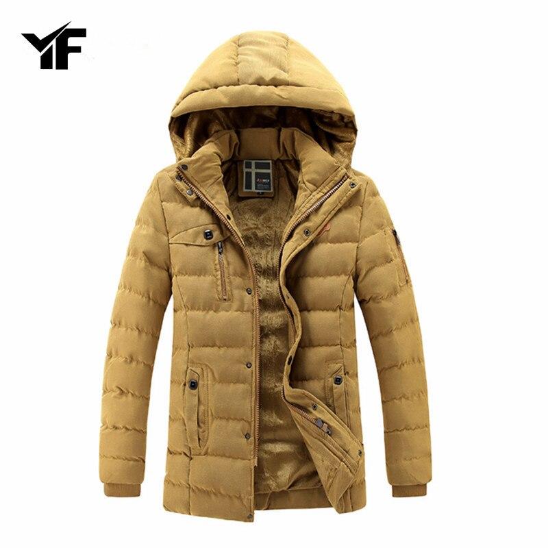 2018 Men's Winter Inner Fleece Warm Waterproof Jacket Outdoor Casual Outwear Hoodies Parkas Warmer Classical Jackets