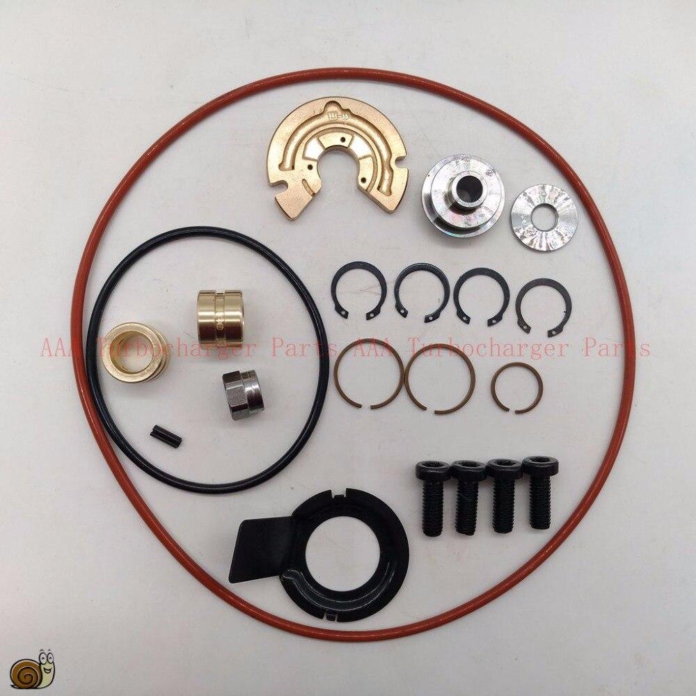 K24 Turbo kits de réparation, palier de butée + palier libre + piston anneau + arbre joint + rondelle + Déflecteur d'huile, AAA Turbocompresseur Pièces