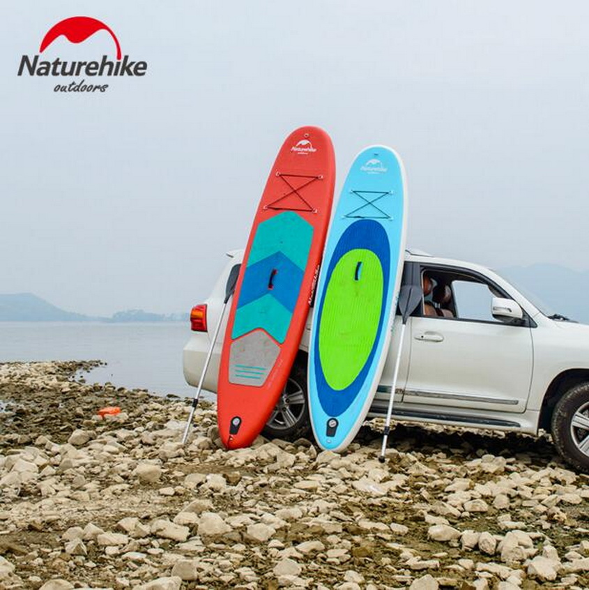 NaturehikeOutdoor water sports inflatable paddle pulp board, adult surfboard, water floating row, floating board flamingo white swan inflatable swimming mounts on water floating bed floating row unicorn adult swimming ring