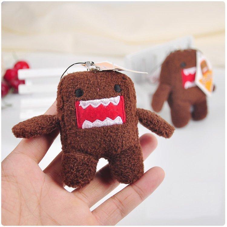 Kawaii 9cm Domokun Plush Toy Funny Domo-kun Stuffed Doll Children Novelty Creative Gift Domo Kun Stuffed Toys For Kids
