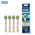 Reemplazables Jefes Cepillo de Dientes Eléctrico Oral B 3D BLANCO Original EB18 Cabezas de Cepillo de Dientes Blanqueamiento 4 cabezas/paquete