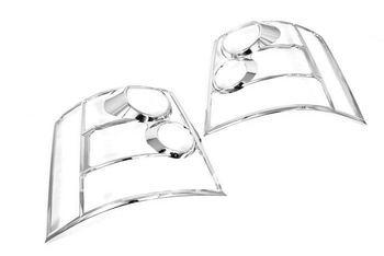 Wysokiej jakości chromowany lampa tylna pokrywa dla Range Rover Sport 06-09 darmowa wysyłka