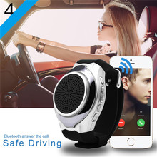 smartwatch U3 android IPhone appropriate bluetooth wristband good watch with hands-free cellphone speaker for protected driving