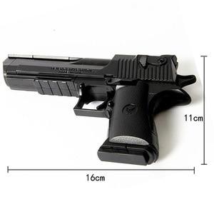 Image 4 - DIY Assembling Building Block Gun Toys Pistol Rifle Children Plastic 3D Miniature Gun Model For Boys CS Games Educational Toy