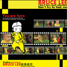 BRUCE LEE KUNG FU PREMIUM QUALITY OUTFIT