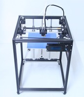 DIY KIT Big Size 3d Printer High Quality LCD Screen Dual Extruder 3D Printer Corexy Machine