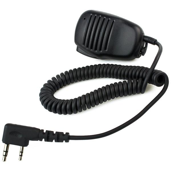 2 Pin Hochwertige Mini PTT Lautsprecher Mic Für Kenwood QUANSHENG PUXING WOUXUN TYT HYT BAOFENG UV5R 888 S Zwei-2-wege-radio